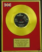 "MANFRED MANN - 24 Carat Gold 7"" Disc - DOO WAH DIDDY"